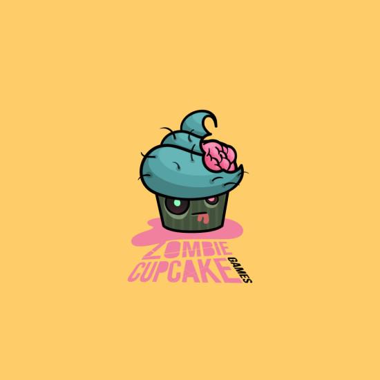 Zombie Cupcake Games Logo