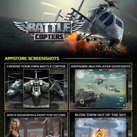 BattleCopters Presentation Sheet Image