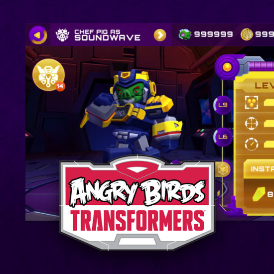 Angry Birds Transformers UI Thumbnail